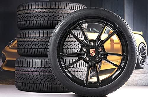 Compatible con Porsche 911 992 19' + 20' Carrera Invierno Negro / Winter Wheels