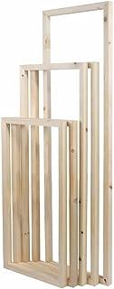 "5 Panels Wooden Inner Frames Set Match for Canvas Wall Art Paintings, 20x30cm + 20x40cm + 20x50cm + 20x40cm + 20x30cm (1"" Premium Thick, Bracket Mounted)"