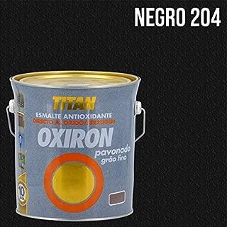 OXIRON - Esmalte Pavonado Oxiron 4 L 0204 Negro