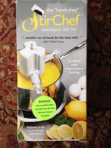StirChef SAUCEPAN STIRRER HandsFree StoveTop cooking