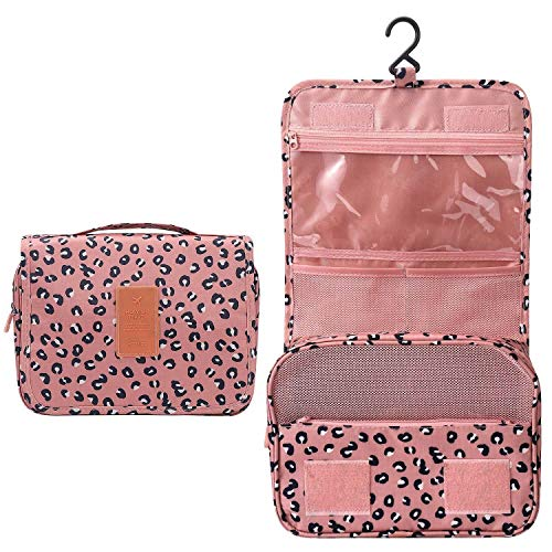 L&FY Multifunction Portable Travel Toiletry Bag Cosmetic Makeup Pouch Toiletry Case Wash Organizer …