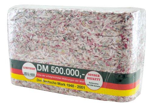Bull + Bear Geldbrikett 'Geld en Bloc - Original 500.000 DM'