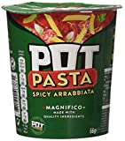 Pot Pasta Spicy Arrabbiata Complete Meal for a Quick Healthy Pasta Snack 66 g
