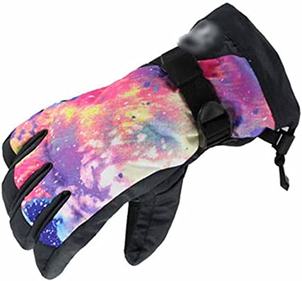 RenShiMinShop Lady, Mode, Rutschfest, Atmungsaktiv, Ski, Handschuhe, Winddicht, Wasserdicht, Warm, Handschuhe B07FF463ZM  | Mittlere Kosten