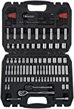AmazonBasics Mechanic Socket Tool Kit Set With Case - Set of 123...
