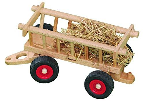 Fagus 10.23Holz Holz Spielzeug-Ziehen–Spielzeug Drag (Holz, Holz, Kinder/Mädchen, 4Reifen (S), Schwarz/Rot, 290mm)
