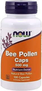 Now Supplements, Bee Pollen 500 mg, 100 Capsules