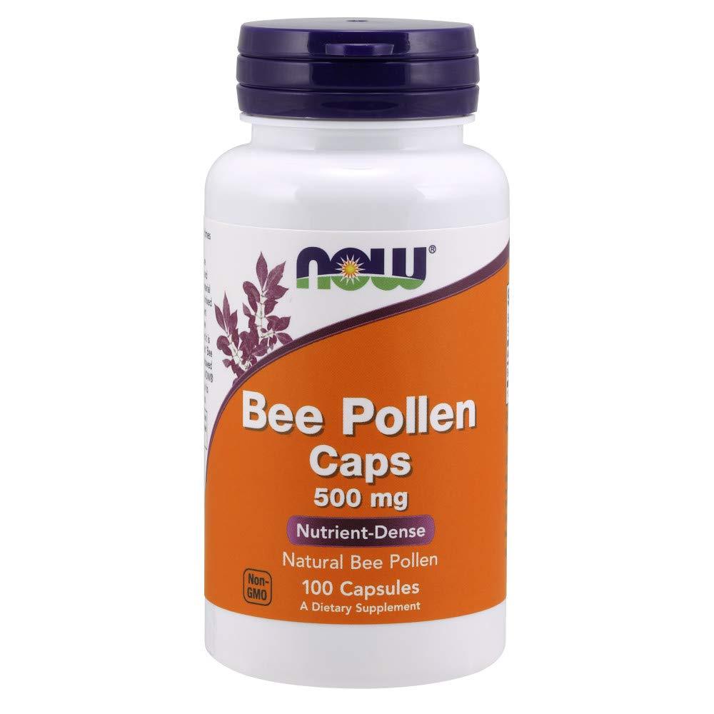 NOW Bee Pollen 500 Capsules