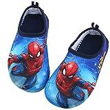 Joah Store Spiderman Boys Water Shoes Swim Aqua Beach Shoes Runs...