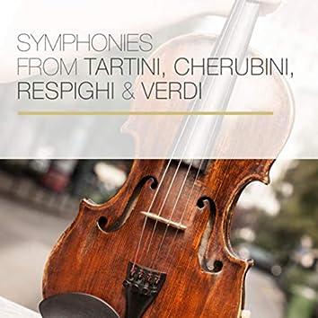 Symphonies from Tartini, Cherubini, Respighi & Verdi