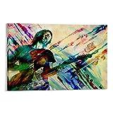 jiandan Thom Yorke Radiohead Poster, dekoratives Gemälde,