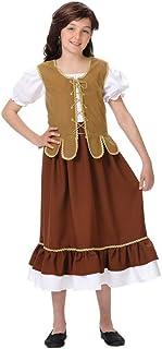 DISBACANAL Disfraz tabernera niña - -, 8 años