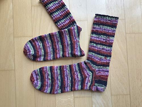 Socken handgestrickt Gr 38 39 40 Schöller Stahl Wolle
