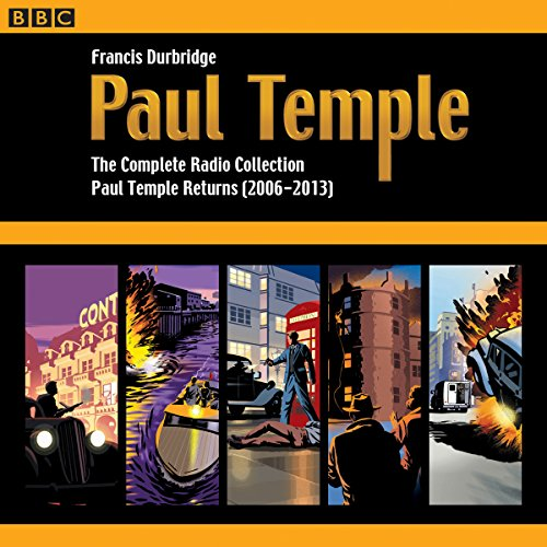 Paul Temple: The Complete Radio Collection: Volume Four Titelbild