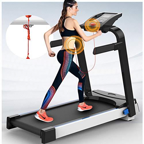 Huishoudelijke loopband Opklapbare loopband voor thuis Opvouwbare functie Elektrische loopband Indoor Fitness Ultrastille modellen Running Machine