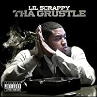 Lil Scrappy Music Album The Grustle(2012)カバーポスター壁アートキャンバスプリント絵画リビングルーム家の装飾-24x24インチフレームなし(60x60cm)26.67