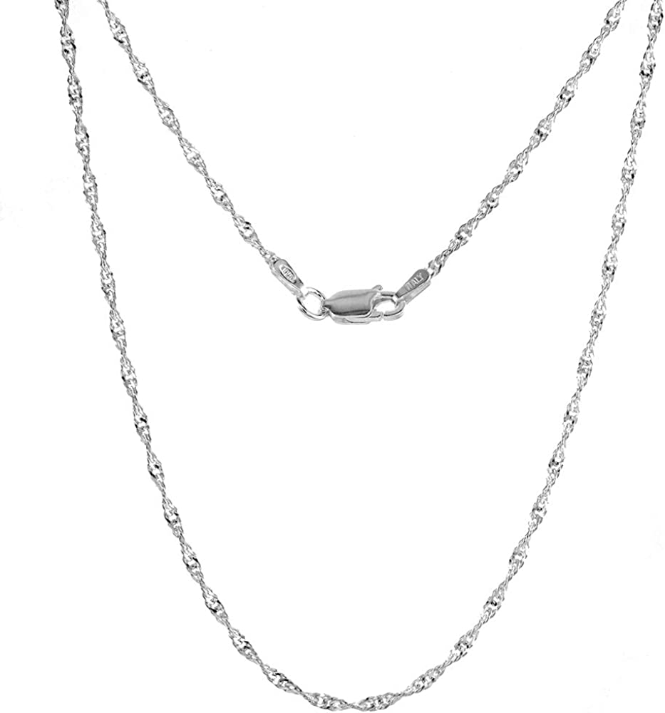 Small Oval Sterling Silver Zodiac Sign Taurus Necklace Women Flawless Finish 3//4 inch Singapore/_Chain