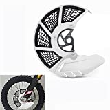 Front Brake Disc Guard Case Cover Protector - For Honda CRF250L CRF250M 12-16 - White...