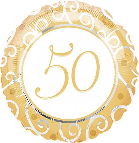 Folienballon 50. Hochzeitstag