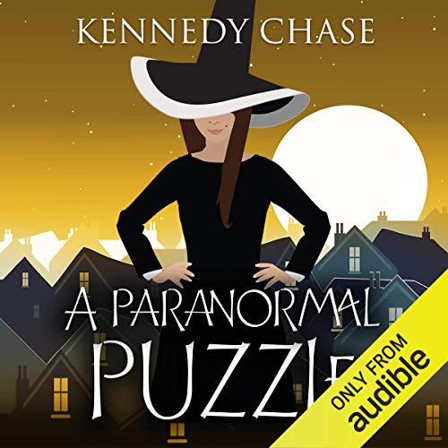 A Paranormal Puzzle audiobook cover art