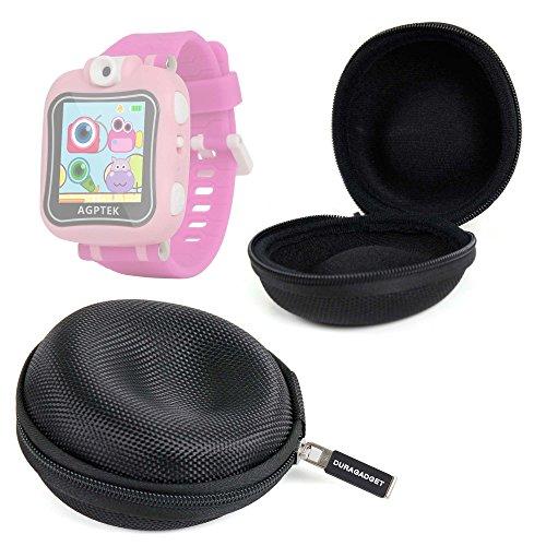 DURAGADGET Funda para AGPtek W6 Reloj Inteligente para niños Guardar Su Dispositivo! - Negra