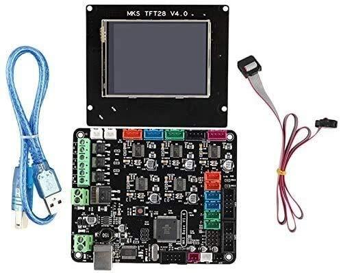 KASILU DIAN317 Kit Scheda Madre della Stampante 3D MKS Base V1.6 + MKS TFT28 Schermata Contatto a Colori Mega2560 .Alte Prestazioni