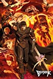 POSTER STOP ONLINE Berserk - Manga/Anime TV Show Poster/Print (Character Collage) (Size 24