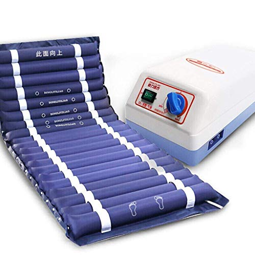 For Sale! Air Pressure Massage Mattress Anti-Decubitus Massage Pad Full Body Massage with Hole for E...