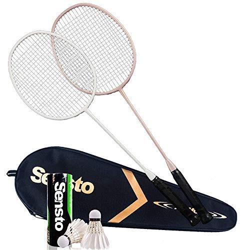 Xiaoyue 100{a0d7c1fa4ca0e20a3c51068d819429d1cf48b60e0e2898a1e2cda076b098d0a7} Vollcarbonfaser-Hochspannungs Schnur Badmintonschläger, Profi-Wettbewerb Design Welle Badmintonschläger, Leicht Graphite Einzelbadmintonschläger Badmintontasche. lalay (Color : 4)