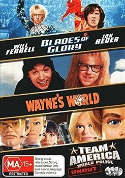 Blades of Glory / Wayne s World / Team America World Police DVD