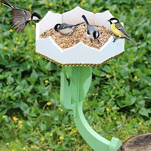 Nosterappou Comedero para pájaros, jardín, decoración del jardín público, Estante para macetas, para Todas Las Aves Silvestres.: Amazon.es: Hogar