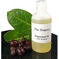 Aceite de semillas de uva de TheSoapery, 1 litro - Grado cosmético - Aceite para masaje y aromaterapia.