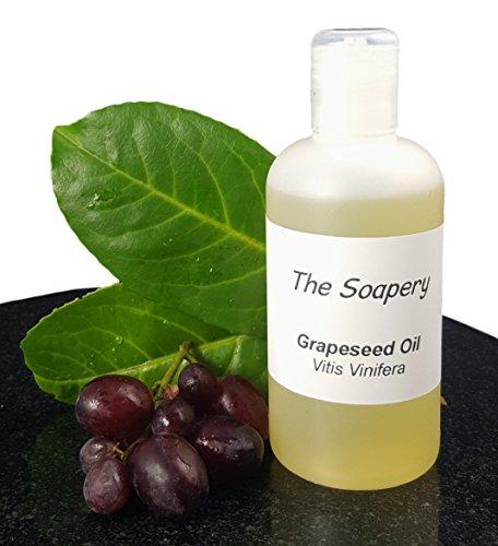 Aceite de semillas de uva de TheSoapery, 250ml - Grado cosmético - Aceite para masaje y aromaterapia