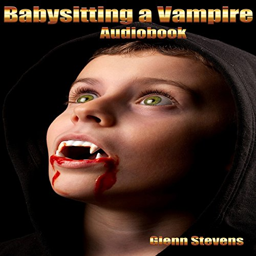 Babysitting a Vampire audiobook cover art