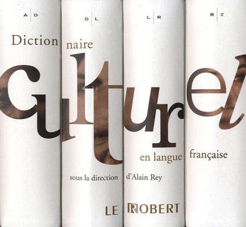 Dictionnaire culturel en langue française