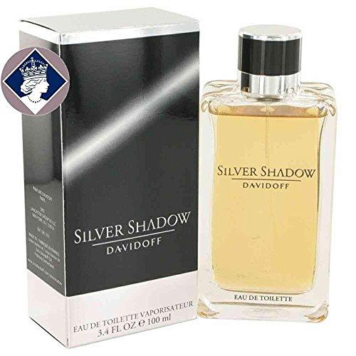 Davidoff Silver Shadow for Men 100ml/3.4oz Eau De Toilette Cologne Scent Spray