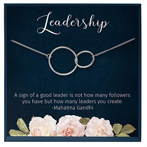 Muse Infinite Leadership Gifts for Women, Female Boss Gift, Retiremnt Gift for Women, Leader Gifts, Woman Boss Leaving Go Away Farewell Gift Personalized Gifts