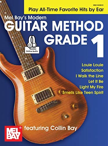 Modern Guitar Method Grade 1: Play All-Time Favorite Hits by Ear (English Edition)
