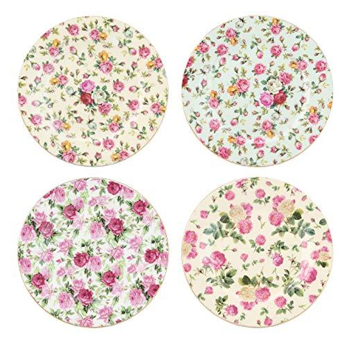 Gracie China Rose Chintz Porcelain