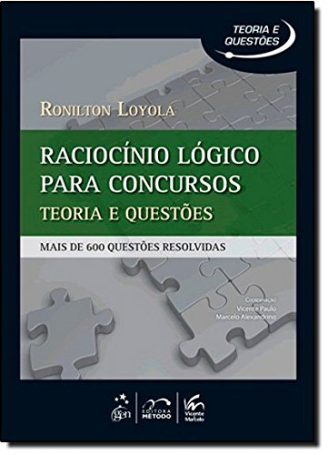 Raciocinio Logico Para Concursos - Mais De 600 Questoes Resolvidas