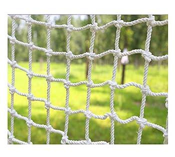 Maran Filet de protection pour balcon en maille transparente pour chats et oiseaux, sans perçage, avec corde de fixation et serre-câbles