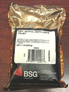 bsg dry active distillers yeast