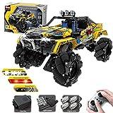Macium QIHUI Technik Bausteine Auto Extreme Crawler Geländewagen Monstertruck mit Motor Konstruktionsspielzeug Kompatibel mit Lego Technic, 1030 teiliges