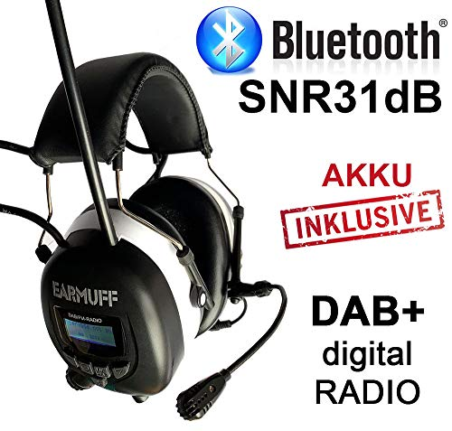 3M BLUETOOTH SNR 24db Digital Radio Gehörschutz Kopfhörer