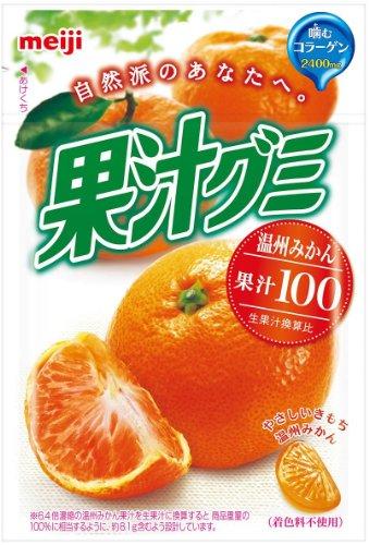 果汁グミ 温州みかん 51g 10個