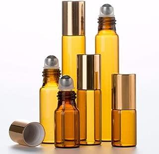 ShopXJ 遮光瓶 アトマイザー ロールオン ブラウン (3ml)