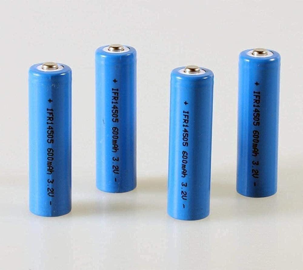 Rechargeable Battery Ifr 14505 Akku Aa 14500 Set 4Er Washington Mall 3.2V 600Mah Sales for sale