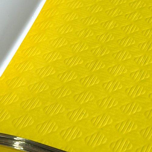 Chiner - Rollo Mantel Papel Color 1,20 x 100 metros (Amarillo)