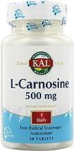 KAL 500 Mg L-carnosine Tablets, 30 Count