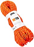 PETZL Erwachsene Verticality Seil Halbstatisch, orange, 40m